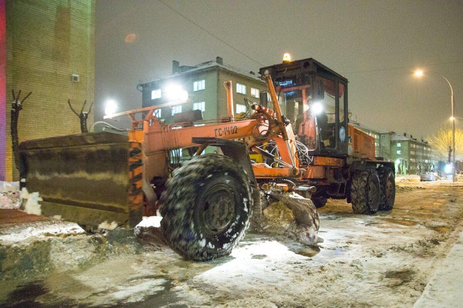 В Кемерове проверяют оперативность и качество очистки дорог