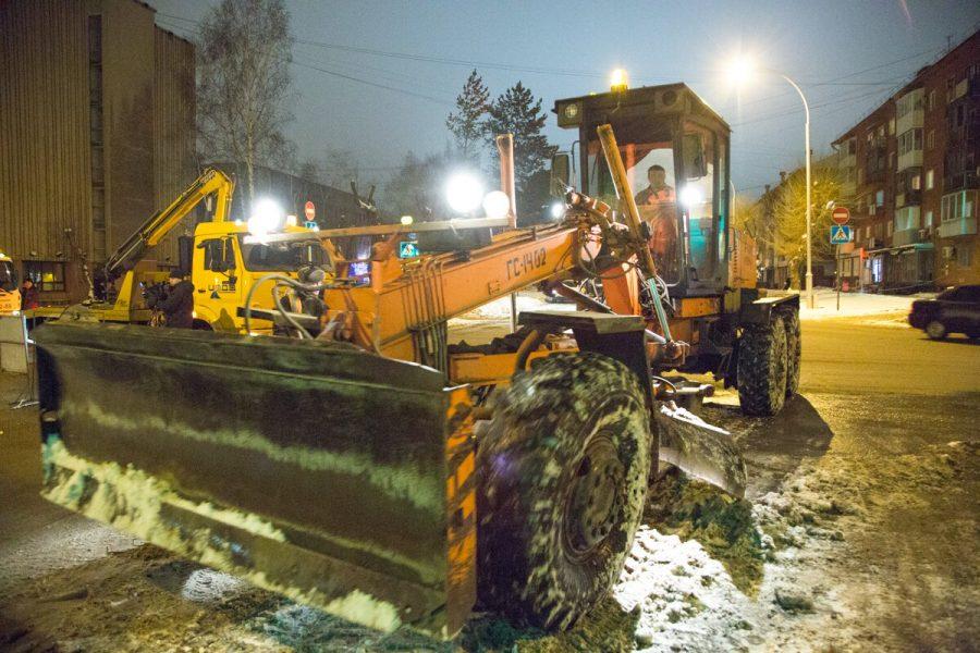 В ночь на 22 ноября в Кузбассе выпала треть декадной нормы снега