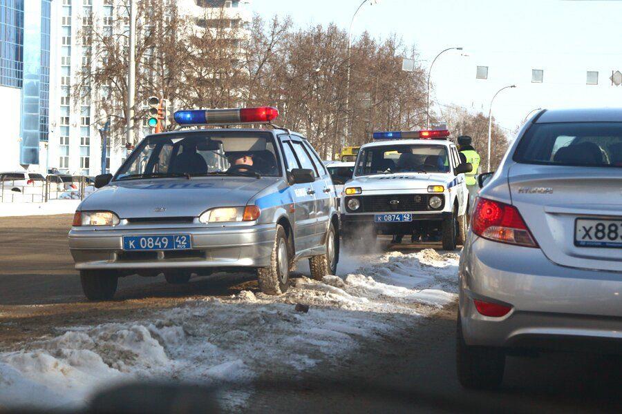 Кемеровские водители получили штрафов на550 тыс. руб. загрязные номера