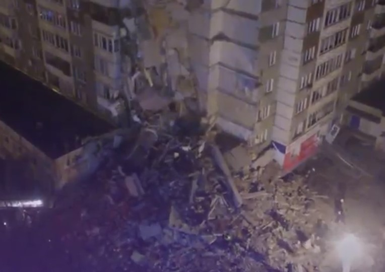 Число жертв  отобрушения дома вИжевске достигло 6-ти