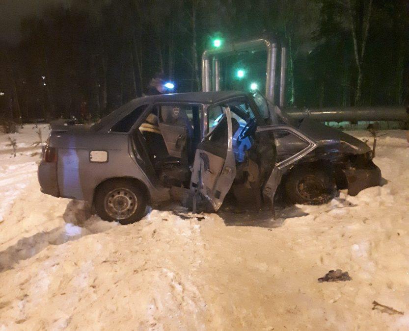 Насамом аварийном перекрестке Кемерова случилось лобовое столкновение