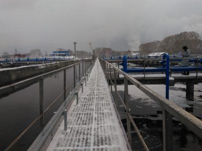 В Кемерове после капремонта запустили левобережные очистные сооружения канализации