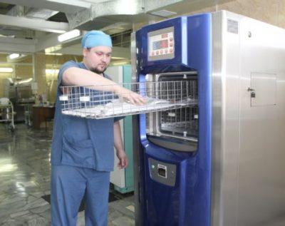 В больнице Новокузнецка запустили стерилизационное оборудование нового поколения