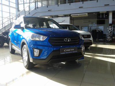 В Кемерове на Южно Hyundai предлагает сэкономить при покупке автомобиля в декабре