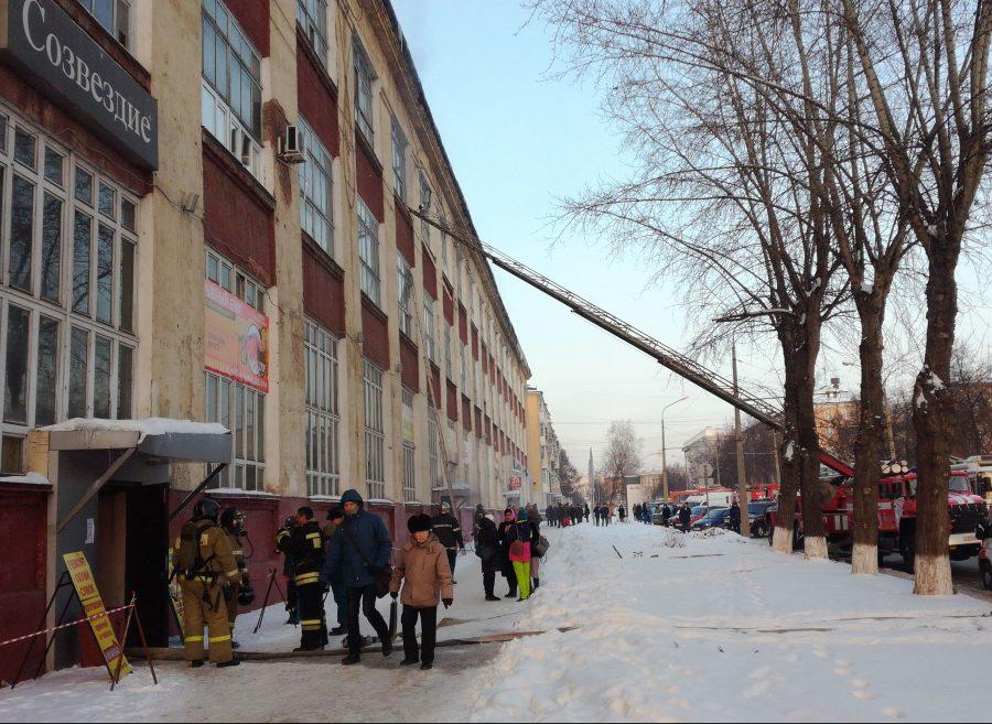 ВМЧС назвали предварительную причину пожара вбизнес-центре «Созвездие»