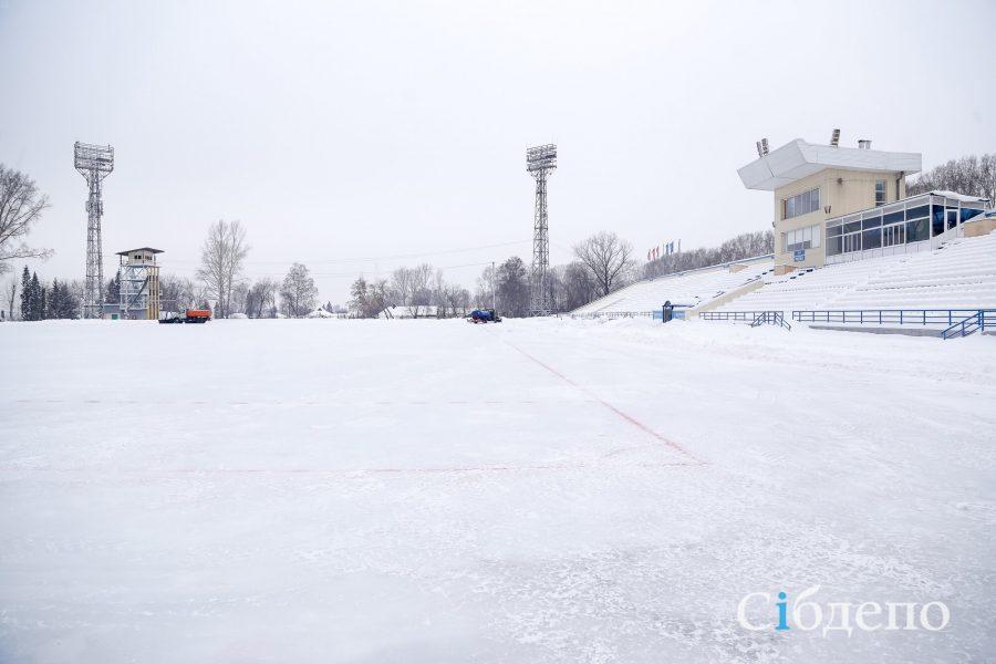 ВКемерове откроется наибольший городской каток