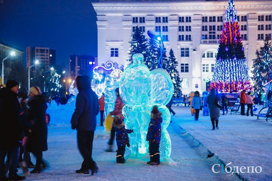 Хороводы и фейерверк: что будет на кемеровской площади Советов в новогоднюю ночь