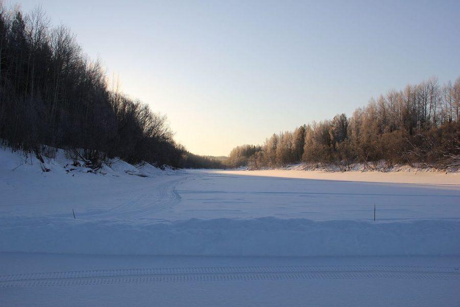 Первые ледовые переправы появились вКузбассе
