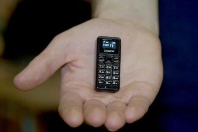 Компания Clubit New презентовала самый маленький мобильный телефон в мире
