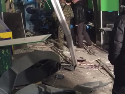 В супермаркете Санкт-Петербурга взорвалась самодельная бомба, пострадали 10 человек