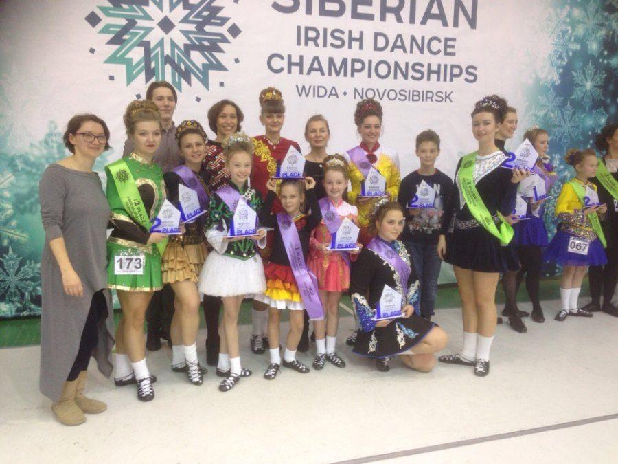 Кемеровчане привезли из Новосибирска шесть чемпионских титулов по ирландским танцам