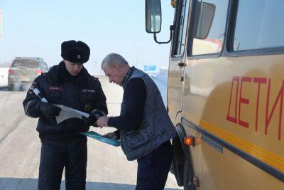 В праздничные дни Госавтоинспекция будет контролировать перевозку детей в автобусах