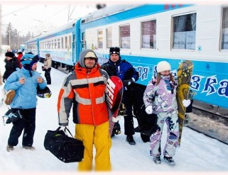 Число пассажиров поезда Новосибирск – Шерегеш в новогодние праздники выросло на 71%