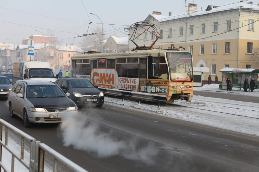 ВКемерове втрамвае скончалась пассажирка