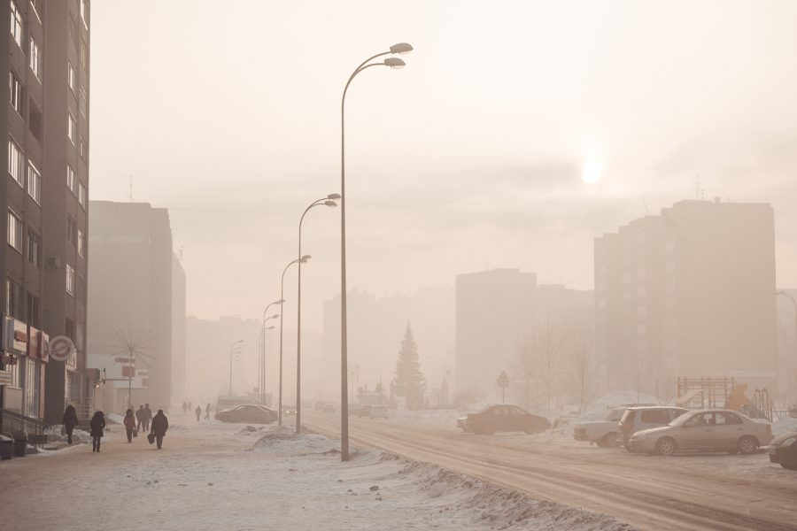Режим «черного неба» объявлен вНовокузнецке