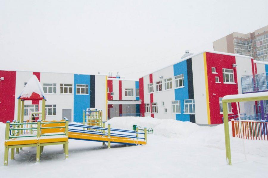 Детский парк сполным инклюзивным образованием открыли вКемерово