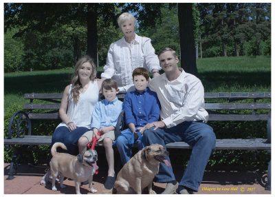 Я художник, я так вижу: семейная фотосессия поразила пользователей Сети
