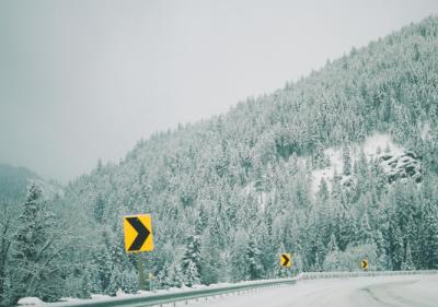 В ГИБДД призвали кузбассовцев быть осторожнее на дорогах в связи с морозами