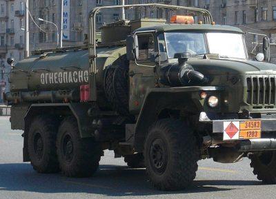 В Кузбассе подразделения ГИБДД начали выдавать допуск к перевозке опасных грузов
