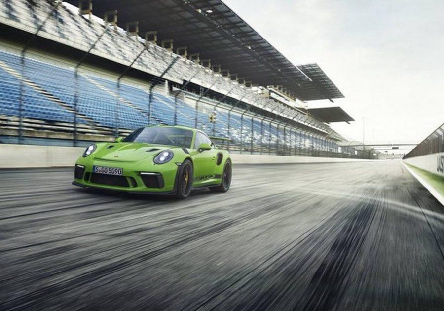 Фото нового Порш 911 GT3 RS