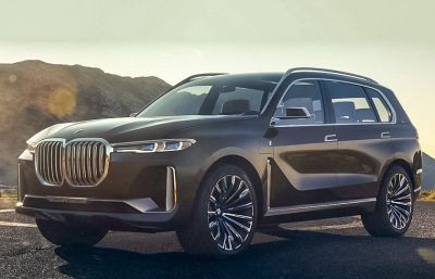 BMW покажет серийный кроссовер X7 в ноябре