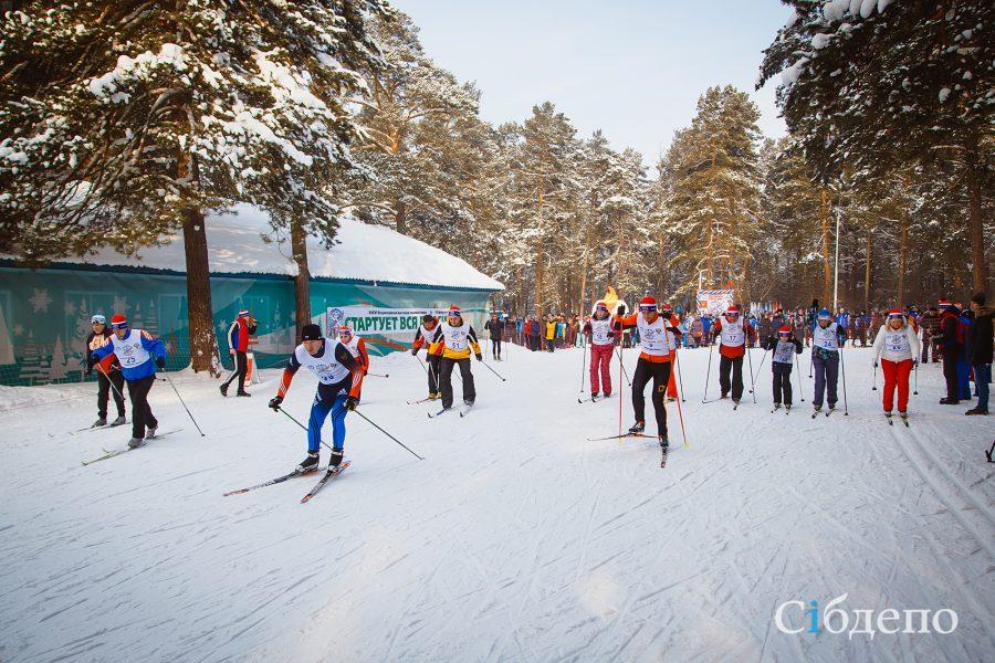 В Кузбассе в «Лыжне России» участвовали более 17 тысяч человек