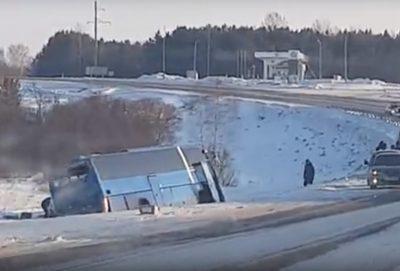 В Сети опубликовали видео с места смертельного ДТП в Чебулинском районе