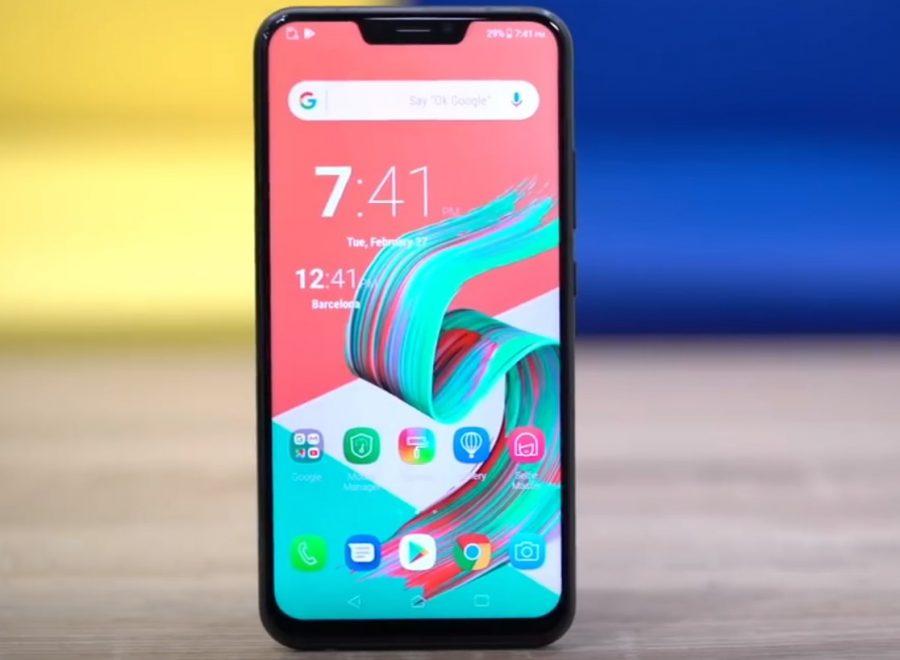 ASUS представила безрамочные мобильные телефоны ZenFone 5 навыставке MWC 2018