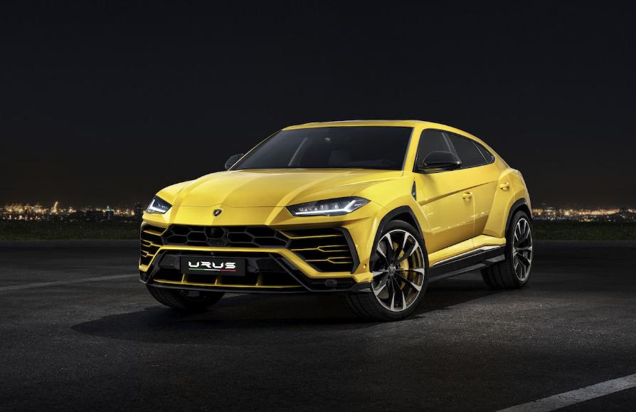 В России презентовали новые кроссоверы Lamborghini Urus