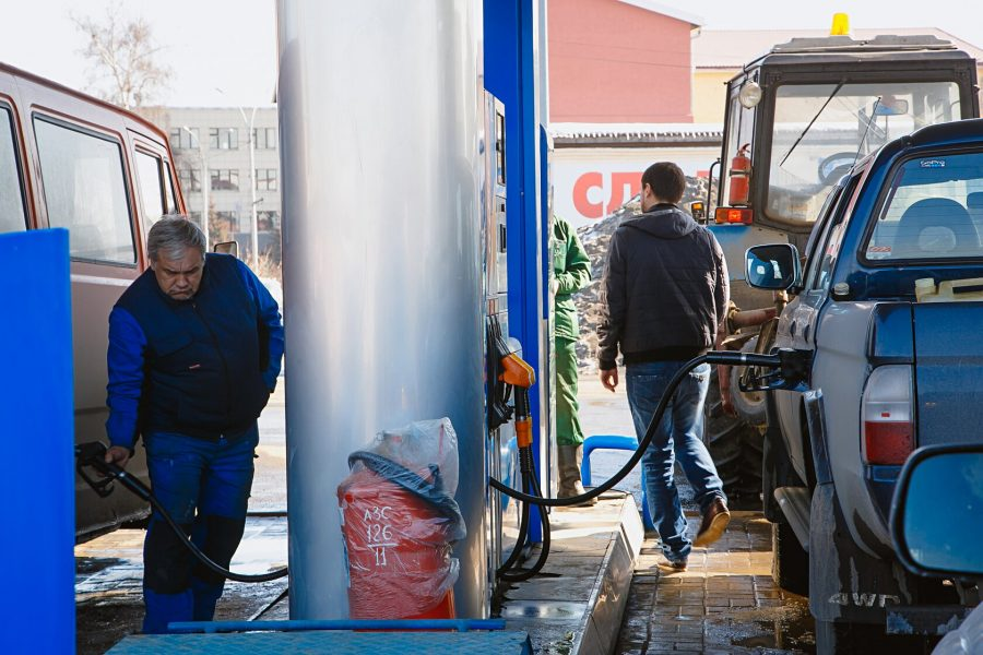 Башстат: ВУфе занеделю увеличились цены набензин АИ-92