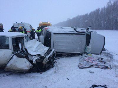 В Кемеровском районе произошло ДТП с двумя погибшими (фото)