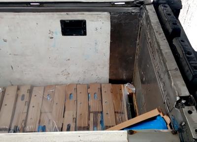 В Кузбассе под видом курицы незаконно пытались перевезти свинину