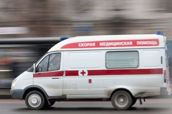 В Прокопьевске перевернулась машина скорой помощи, пострадали четыре человека