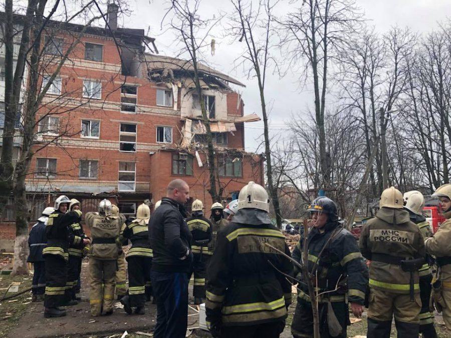 В Краснодаре при взрыве в пятиэтажке пострадали семь человек