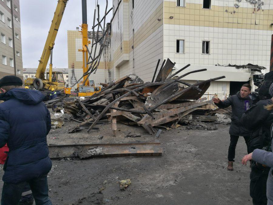 Работники МЧС сказали, когда закончат работы наместе пожара вКемерове