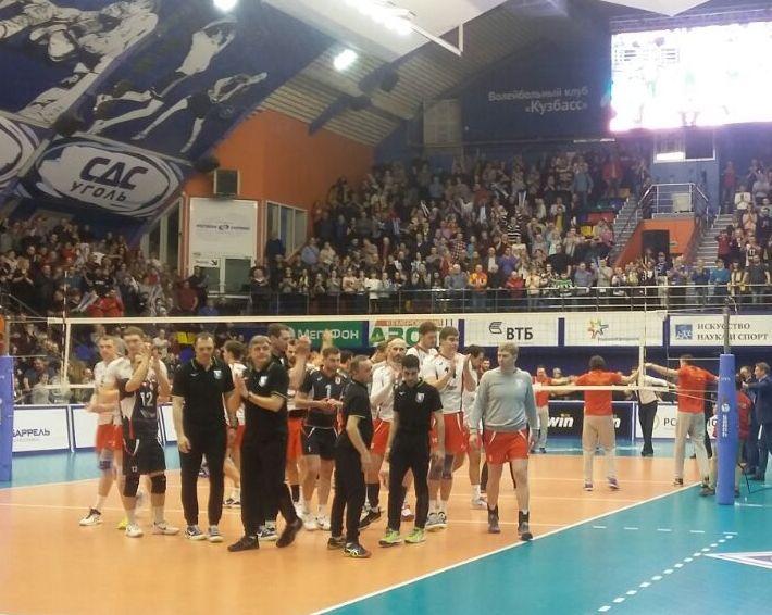 Волейбольный «Кузбасс» сотворил главную сенсацию сезона российской Суперлиги