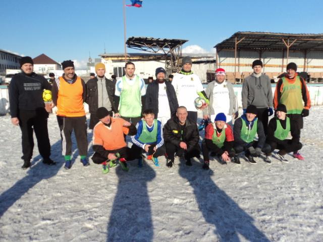 Кузбасские священнослужители сыграли в футбол с заключёнными