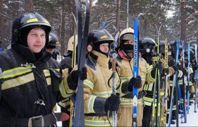 В Кемерове прошёл всероссийский пожарно-спасательный флешмоб
