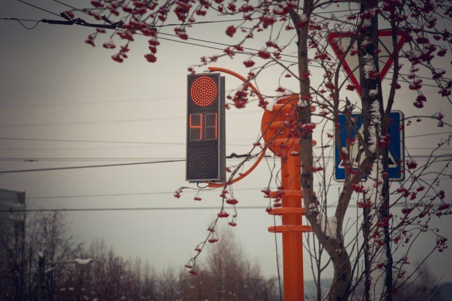 На перекрёстке в центре Кемерова изменят схему движения