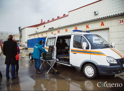 В Кемерове работает «горячая линия» для родственников пострадавших во время пожара в «Зимней вишне»