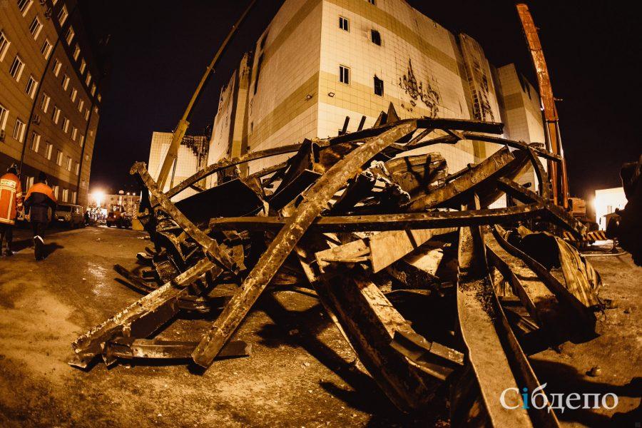 Наместе сгоревшего вКемеровоТЦ предложили сделать сквер