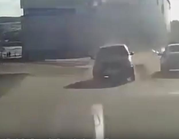 Видео момента смертельного ДТП в Киселёвске появилось в Сети