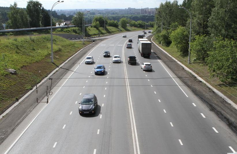 Более 880 «квадратов» дорожной разметки нанесут в Кемерове