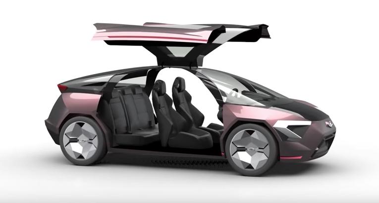 Представлен концепт-кар автомобиля Лада Triangle-X 2025