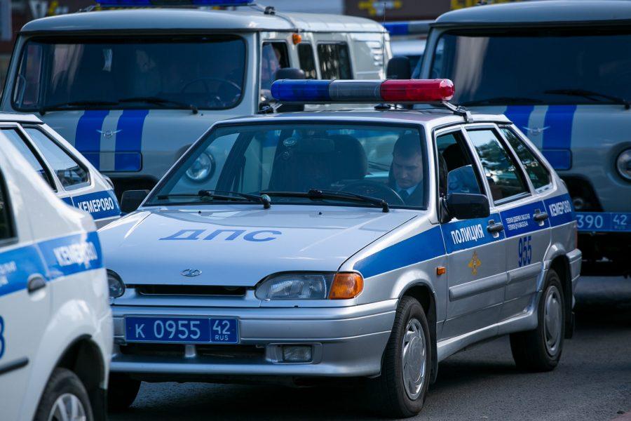 С начала года в Кемерове более трёх тысяч водителей оштрафовали за непропуск пешеходов