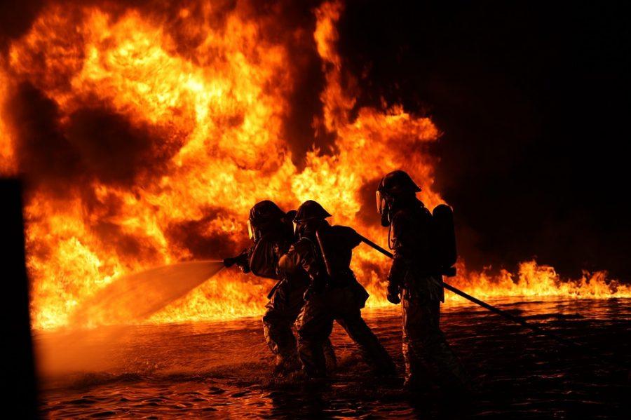 В Шерегеше горел гостевой дом