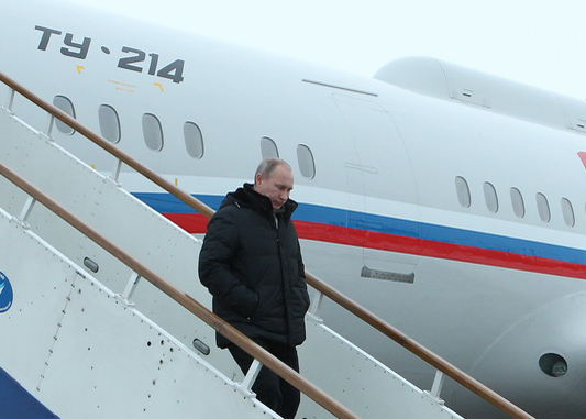 Президент России Владимир Путин прибыл в Кемерово