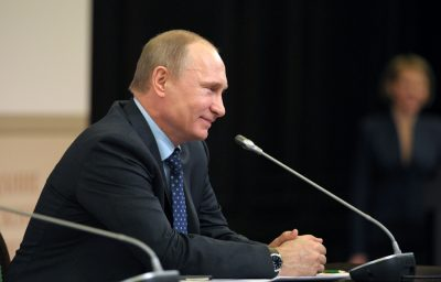 Владимир Путин поздравил женщин с 8 Марта стихотворением Андрея Дементьева