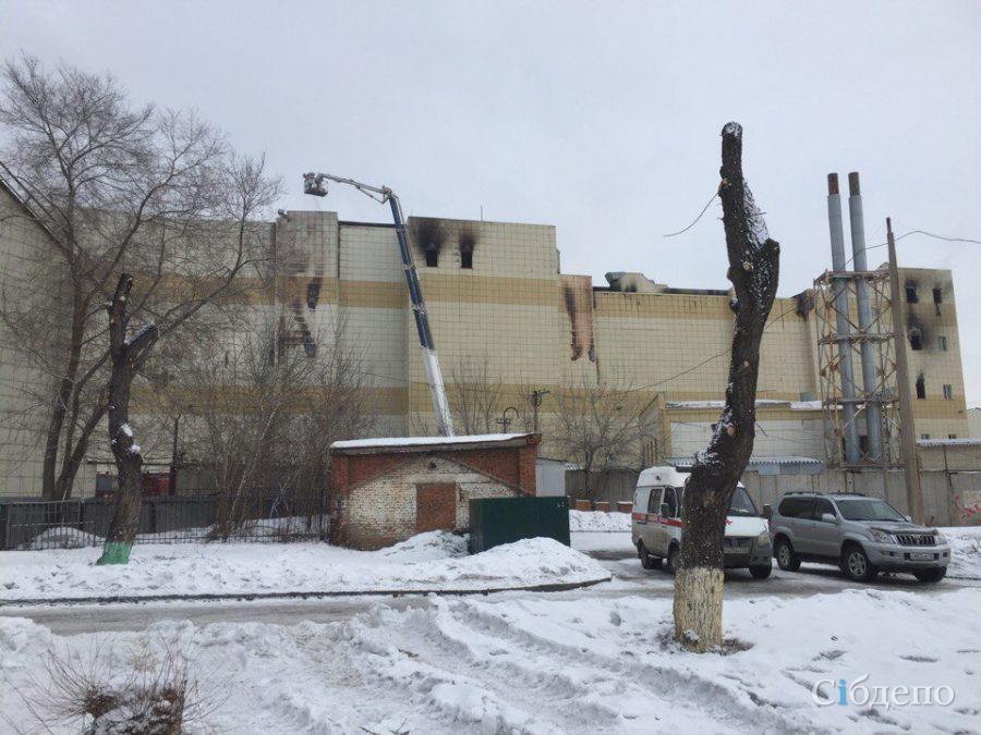 «Интерфакс»: пожар в кемеровской «Зимней вишне» могла спровоцировать неисправная электропроводка