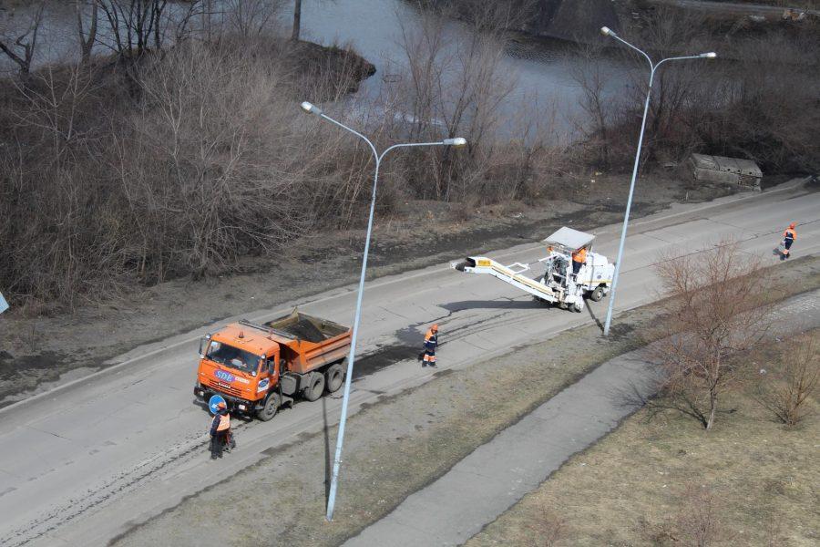 В Новокузнецке завершается первый этап ремонтной кампании дорог